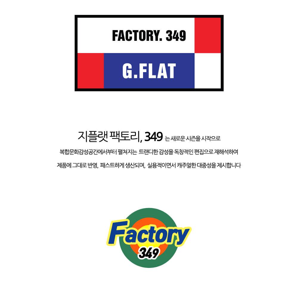 지플랫(G-FLAT) [지플랫] 모찌 로고핸들 크로스백 (NAVY)