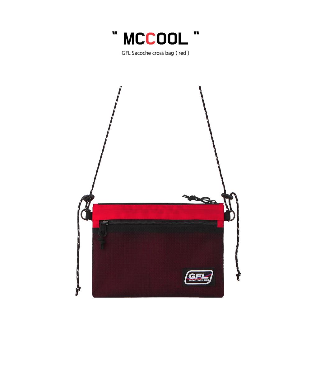 지플랫(G-FLAT) 맥쿨 크로스백 (RED)