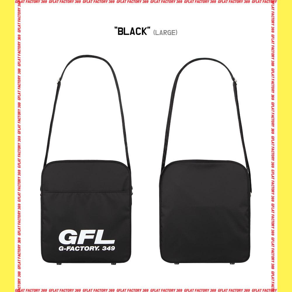 지플랫(G-FLAT) 에어라인 GFL 83 크로스백 L (BLACK)
