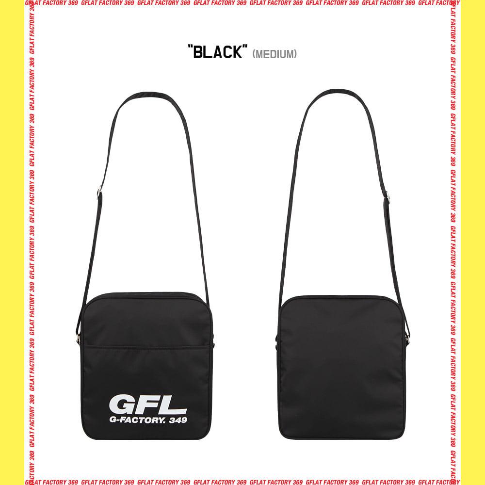 지플랫(G-FLAT) 에어라인 GFL 83 크로스백 M (BLACK)