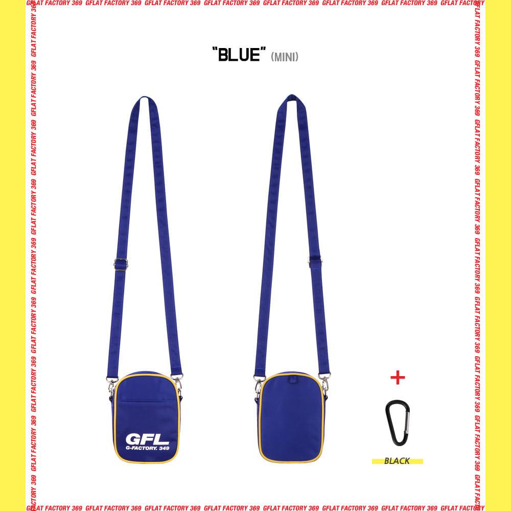 지플랫(G-FLAT) 에어라인 GFL 83 크로스백 mini (BLUE)
