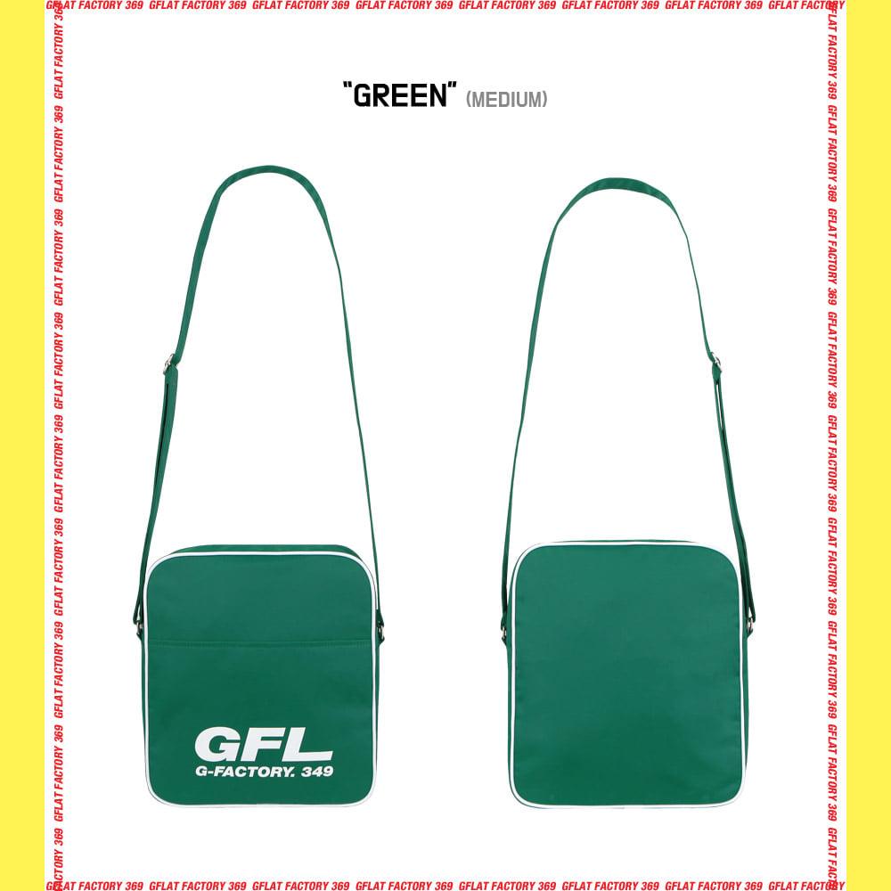 지플랫(G-FLAT) 에어라인 GFL 83 크로스백 M (GREEN)