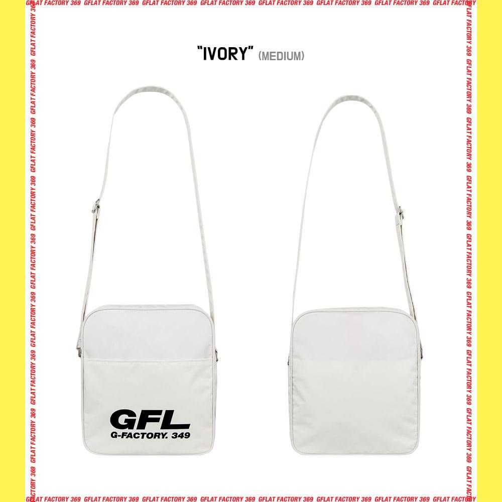 지플랫(G-FLAT) 에어라인 GFL 83 크로스백 M (IVORY)