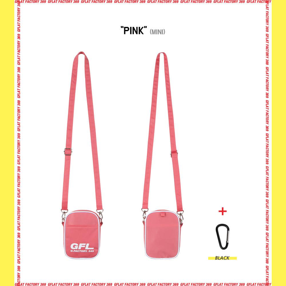 지플랫(G-FLAT) 에어라인 GFL 83 크로스백 mini (PINK)