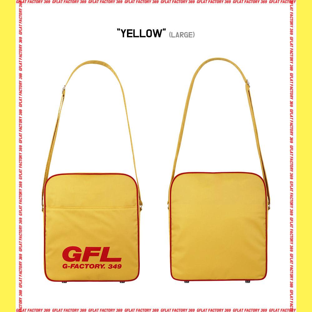 [지플랫] 에어라인 GFL 83 크로스백 L (YELLOW)